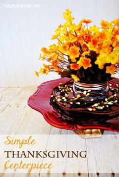 Thanksgiving Centerpiece idea