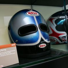 Drag racing Bell helmet