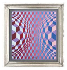 Victor Vasarely, 'Compositie,' 1992, Miniature Museum Ria and Lex Daniels