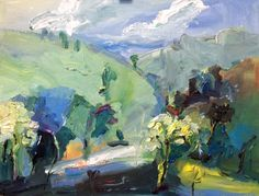 """""""The Road to Mudgee"""" Managed to squeeze out one little painting of the place. #oilpainting #oiloncanvas #painter"""