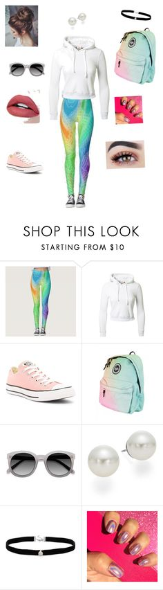 """""""Untitled #8"""" by dolphinlover125 ❤ liked on Polyvore featuring Disney, Vetements, Converse, Ace, AK Anne Klein and Amanda Rose Collection"""
