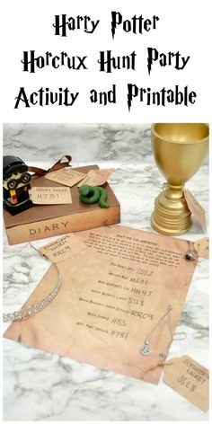letter cake geburtstag Harry Potter Horcrux Hunt Party Activity and Printable Harry Potter Motto Party, Harry Potter Halloween Party, Harry Potter Classroom, Harry Potter Christmas, Harry Potter Birthday, Harry Potter Party Games, Haunted Halloween, Harry Potter Thema, Cumpleaños Harry Potter