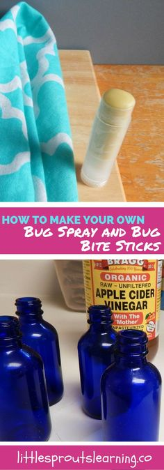 Summer time brings on the bug bites like crazy. You can make your own anti itch sticks that work wonderfully to take the itch out fast.