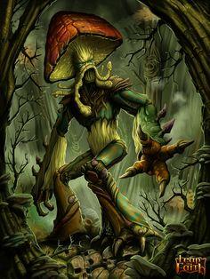 Fungus Monster Advanced by MichaelJaecks on DeviantArt