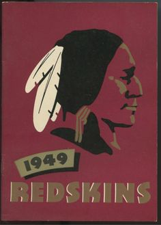 1949 Washington Redskins NFL Press and Radio Football Media Guide-Sammy Baugh Redskins Football, Redskins Fans, Football Team, Nfc East Division, Louisiana Tech, Sports Art, Sports Teams, American Indian Art, Washington Redskins