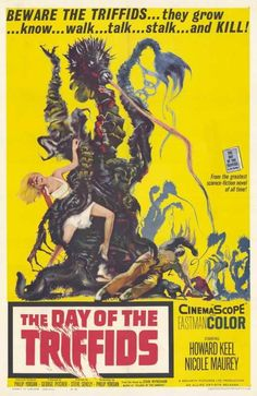 Day Of The Triffids (1963) - Howard Keel DVD