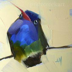 colibrí no. 23 | moulton angela de pintura al día