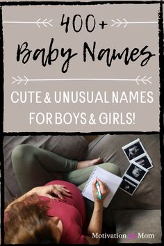Choosing baby names can be a challenge, but with this list of over 400 unusual baby names, you can't go wrong. There are super cute baby names for both boys and girls. There are so many to choose from, from traditional baby names, to unique names that you probably haven't heard of. This list is full of uncommon and unique baby names. #babynames #unusualbabynames #babygirlnames #babyboynames #unique baby names #traditionalbabynames Unusual Baby Names, Cute Baby Names, Unique Names, Baby Girl Names, Boy Names, Boy Or Girl, First Pregnancy, Pregnancy Workout, Gender Neutral Names