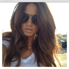 brown hair<3 this is how I want my hair to be!!!