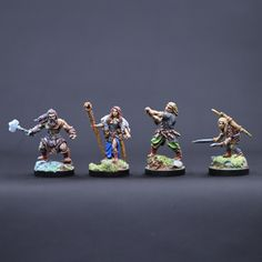 It's time to feature another competitor in the Cleric, Fighter, Wizard, Rogue Miniature Painting Tourney. Today's Ensemble Shot is Bronze Age Miniatures! You can find them here: http://www.bronzeagemin.com/ Make sure you vote during AetherCon all weekend long to have your say on who is the best. The more you vote, the more chances you have to win!