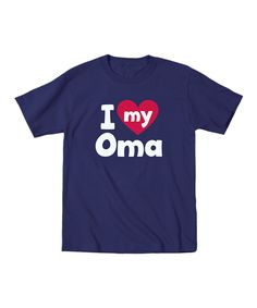 Another great find on #zulily! Navy 'I Love My Oma' Tee - Toddler & Kids by It's Just Me #zulilyfinds