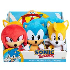 Sonic the Hedgehog Basic Plush - Knuckles Sonic The Hedgehog, Sonic Plush Toys, Hedgehog Bedding, Blue Bunny, Game Item, Video Game Characters, Toys For Boys, Soft Fabrics, Animal Rescue