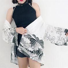Robe Japanese kimono jacket cardigan YV2078