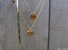 Thanks, I Made It : DIY Delicate Layered Necklace