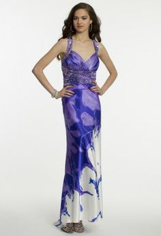 Printed Chameuse Dress from Camille La Vie and Group USA