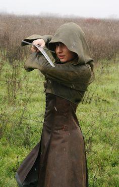 Robin Hood's daughter Archers Dress by megatokyo-girl.deviantart.com on @deviantART