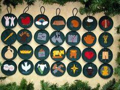 Jesse Tree Ornaments - A Christian Family Celebration of Christmas