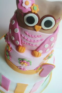 And Everything Sweet: Girlly Owl First Birthday
