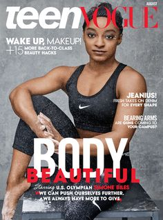 How August Cover Star Simone Biles Blazes Through Expectations