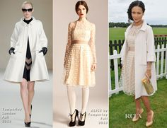 Thandie Newton In Temperley London & ALICE by Temperley - Queen's Cup Polo Day 2013