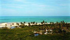 The beach at Trancoso. Brazil