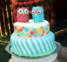 Girls 2nd Birthday Ideas | Owl+birthday+party+ideas+owl+food+owl+birthday+cake.jpg