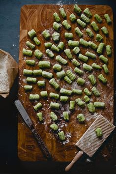 Arugula Gnocchi with Spicy Brown Butter Sauce via playful cooking Vegetarian Recipes, Cooking Recipes, Healthy Recipes, Healthy Gnocchi Recipes, Endive Recipes, Radish Recipes, Pasta Party, Gnocchi Dishes, Plats Healthy