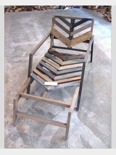 Palette recliner