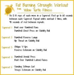 Fat Burning Strength Workout