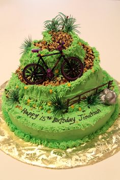 Mountain Bike Cake 2013