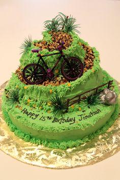 Mountain Bike Cake 2013