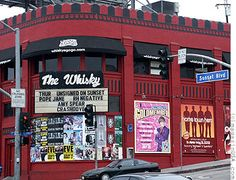 The Whiskey a Go Go Club, Sunset Strip, Hollywood, CA