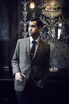 #vintage #tweed #suit #fashion #sexy Tweed Men, Suit Fashion, Gentleman, Suit Jacket, Breast, Suits, Sexy, Jackets, Vintage