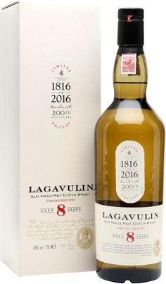 """Time to taste the 200th anniversary edition of the Lagavulin 8 year old. I have to compliment Diageo for not going the obvious commercial NAS and """"flavour led"""" way. They had the ball's to bottle a young whisky (finally). More thought's on this expression can be found in my conclusions. #lagavulin"""