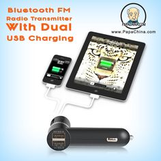 The Bluetooth FM Radio Transmitter With Dual USB Charging is the promotional item to use when you want to create a lasting memory of your brand within your clients. Designed with acrylonitrile butadiene styrene (ABS) plastic, polycarbonate (PC), your imprinted company name and logo will continue to remind them of your brand.
