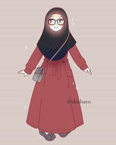 630 Best Cartoon Muslimah Images In 2019 Anime Muslimah Muslim