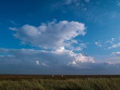 Wolken über der ostfriesischen Insel #Juist