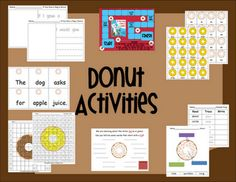 Activities to go with the newest Laura Numeroff book! WOO HOO