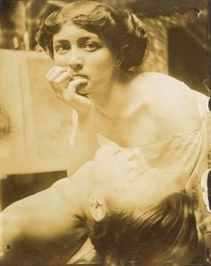 Photographic study for a decorative panel, by Alphonse Mucha, 1908