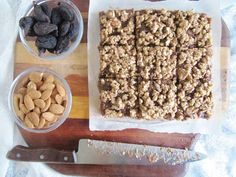 This Rawsome Vegan Life: raw fig bars with almond and figs from shiloh farms