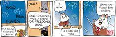 Breaking Cat News by Georgia Dunn for Jul 4, 2017   Read Comic Strips at GoComics.com