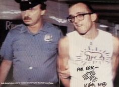 Keith Haring ART as Direct action.