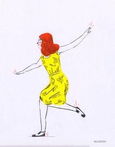 La La Land gif by Ro Ledesma #lalaland #gif #fashion #emmastone