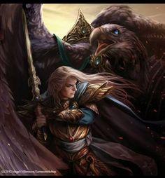 Glorfindel by Magali Villeneuve. Jrr Tolkien, Character Portraits, Character Art, Character Ideas, Fantasy World, Fantasy Art, Das Silmarillion, Glorfindel, Ai No Kusabi