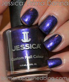 Prim and Polished: A Nail Polish Blog: Jessica: Standing Ovation & Prima Donna