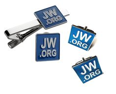 Jw.org Necktie Clip-Cufflinks and Lapel Pin Set Gift Box * Click image for more details.