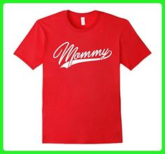Mens MOMMY Funny Family Matching Tshirt For Mother Small Red - Relatives and family shirts (*Amazon Partner-Link)
