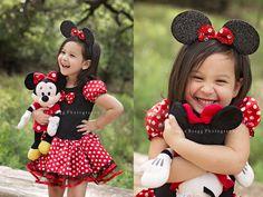 Savannah GA child photography - Jamie Bragg Photography - Minnie Mouse
