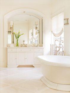 #Bathroom #white on white