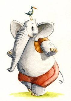 Pinzellades al món: Illustrations of elephants / Il·lustracions d'elefants / Ilustraciones de elefantes / Illustrations des éléphants / Illustrazioni di elefanti